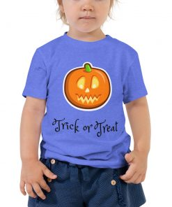 Trick or Treat - Halloween - Toddler Short Sleeve Tee - AwesomeGraphix.com - T-Shirts, Caps, Mugs, Baby Onesies, Wall Art and more!