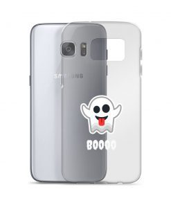 Funny Ghost BOOOO - Samsung Case - AwesomeGraphix.com - T-Shirts, Caps, Mugs, Baby Onesies, Wall Art and more!