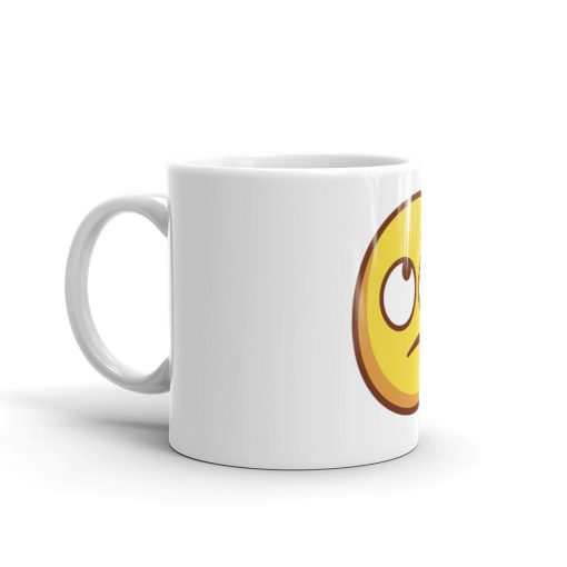 Funny Mug - Uncertain Face - AwesomeGraphix.com - T-Shirts, Caps, Mugs, Baby Onesies, Wall Art and more!