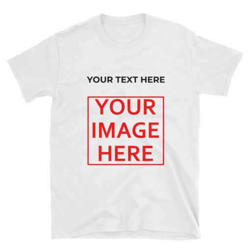DIY: Short-Sleeve Unisex T-Shirt - AwesomeGraphix.com - T-Shirts, Caps, Mugs, Baby Onesies, Wall Art and more!
