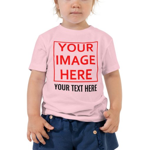 DIY: Customizatble Toddler Short Sleeve Tee - AwesomeGraphix.com - T-Shirts, Caps, Mugs, Baby Onesies, Wall Art and more!