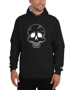 Skull Image - Champion Hoodie - AwesomeGraphix.com - T-Shirts, Caps, Mugs, Baby Onesies, Wall Art and more!