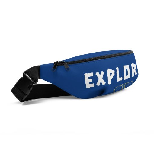 Explorer with Sunglasses Image - Fanny Pack - AwesomeGraphix.com - T-Shirts, Caps, Mugs, Baby Onesies, Wall Art and more!