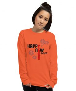 Happy New Year 2020 - Long Sleeve T-Shirt - AwesomeGraphix.com - T-Shirts, Caps, Mugs, Baby Onesies, Wall Art and more!
