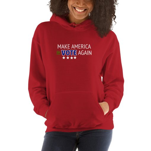 Make America Vote Again - Unisex Hoodie - AwesomeGraphix.com - T-Shirts, Caps, Mugs, Baby Onesies, Wall Art and more!