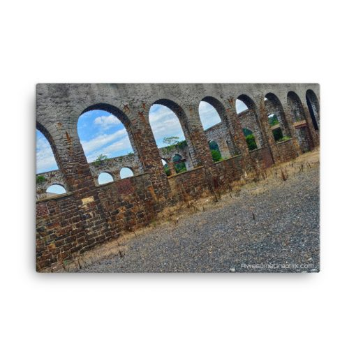Bethlehem Rustic Arch Walls – Canvas (24×36) - AwesomeGraphix.com - T-Shirts, Caps, Mugs, Baby Onesies, Wall Art and more!