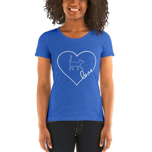 Cat Lover's Edition - Ladies' short sleeve t-shirt - AwesomeGraphix.com - T-Shirts, Caps, Mugs, Baby Onesies, Wall Art and more!