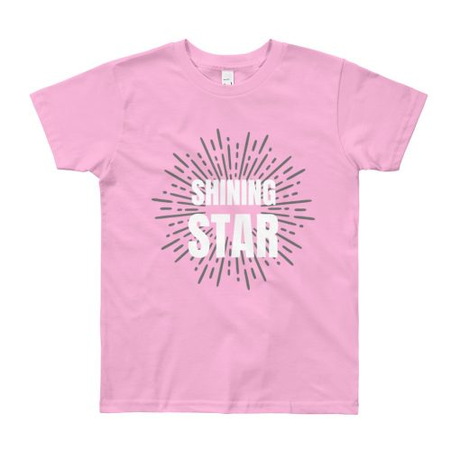 Shining Star - Youth Short Sleeve T-Shirt - AwesomeGraphix.com - T-Shirts, Caps, Mugs, Baby Onesies, Wall Art and more!