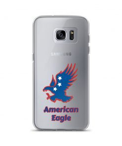 American Eagle - Blue and Red - Samsung Phone Case - AwesomeGraphix.com - T-Shirts, Caps, Mugs, Baby Onesies, Wall Art and more!