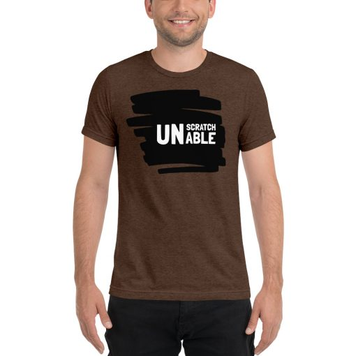 UNScratchAble - Short sleeve t-shirt - AwesomeGraphix.com - T-Shirts, Caps, Mugs, Baby Onesies, Wall Art and more!
