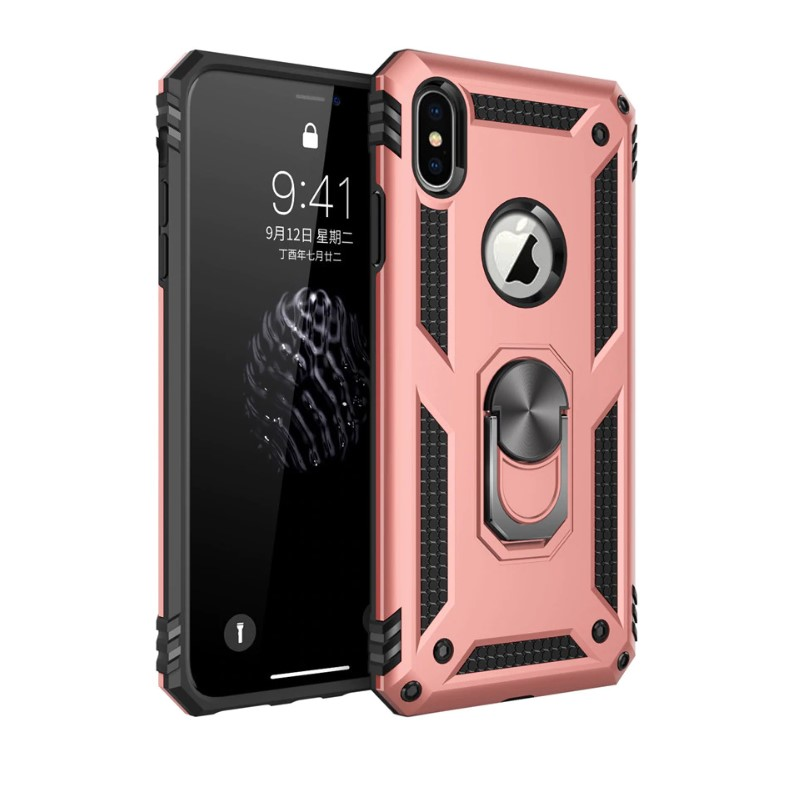Shockproof Armor Kickstand Case for iPhone