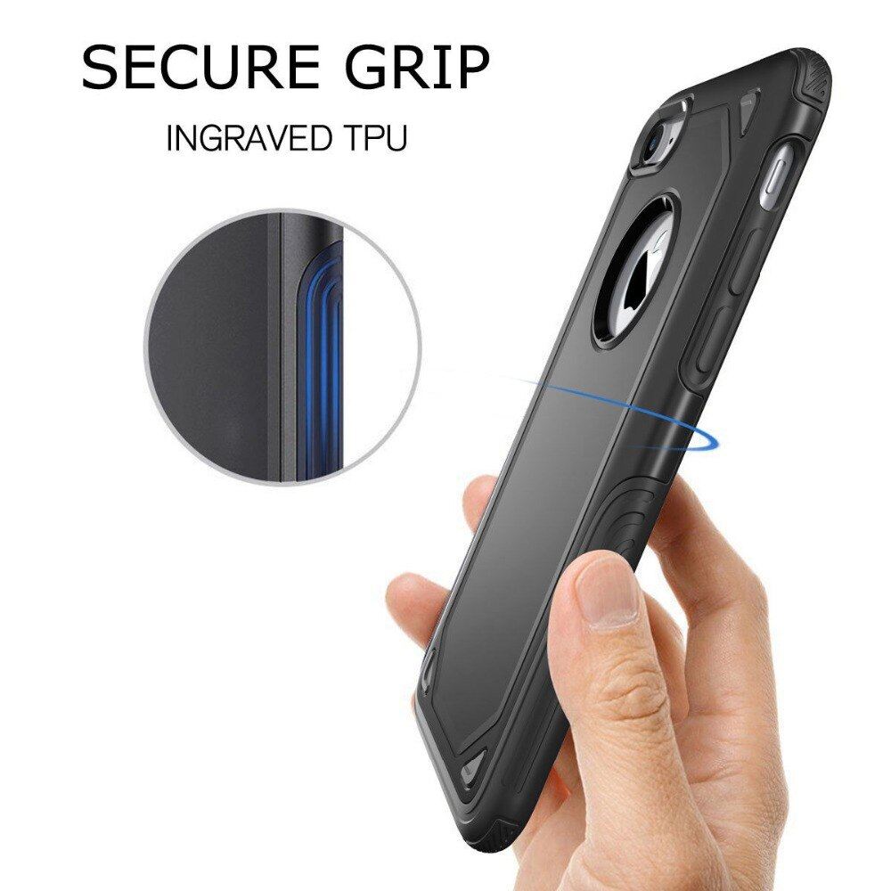 Military Shockproof Armor Phone Case for iPhone