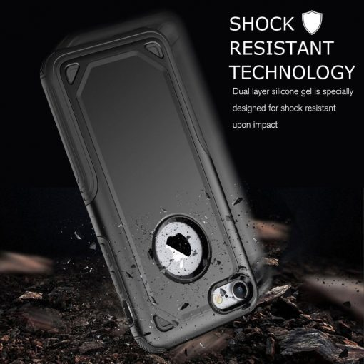 Military Shockproof Armor Phone Case for iPhone - AwesomeGraphix.com - T-Shirts, Caps, Mugs, Baby Onesies, Wall Art and more!