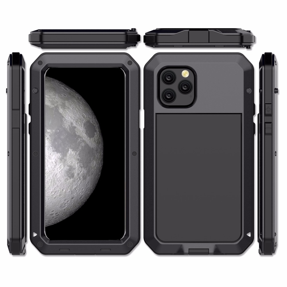 Heavy Protection Aluminum Phone Case for iPhone