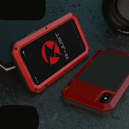 Heavy Protection Aluminum Phone Case for iPhone - AwesomeGraphix.com - T-Shirts, Caps, Mugs, Baby Onesies, Wall Art and more!