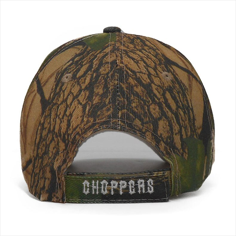 Men's Rock Style Skull Embroidered Cap