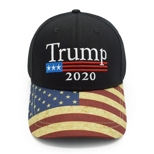 Trump 2020 Embroidered Baseball Cap - AwesomeGraphix.com - T-Shirts, Caps, Mugs, Baby Onesies, Wall Art and more!