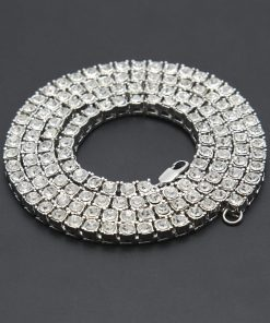 Iced Out Chain Necklace - AwesomeGraphix.com - T-Shirts, Caps, Mugs, Baby Onesies, Wall Art and more!