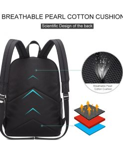 Casual Waterproof Men's Laptop Backpack with USB Charger - AwesomeGraphix.com - T-Shirts, Caps, Mugs, Baby Onesies, Wall Art and more!