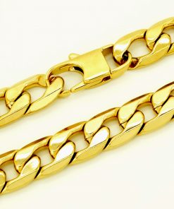 Gold Stainless Steel Women's Bracelet - AwesomeGraphix.com - T-Shirts, Caps, Mugs, Baby Onesies, Wall Art and more!