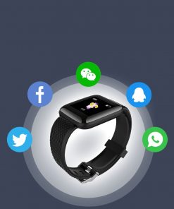Waterproof Health Monitoring Smart Watch - AwesomeGraphix.com - T-Shirts, Caps, Mugs, Baby Onesies, Wall Art and more!