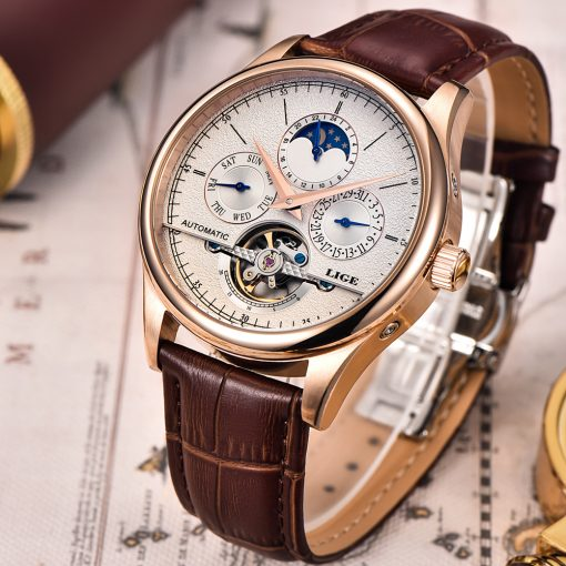 Mechanical Automatic Men's Skeleton Watches - AwesomeGraphix.com - T-Shirts, Caps, Mugs, Baby Onesies, Wall Art and more!
