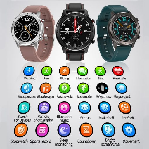Casual Waterproof Smart Watch - AwesomeGraphix.com - T-Shirts, Caps, Mugs, Baby Onesies, Wall Art and more!