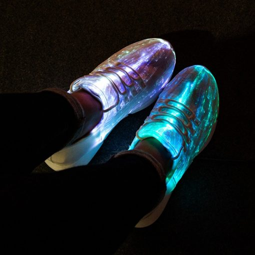 Unisex LED Shoes - AwesomeGraphix.com - T-Shirts, Caps, Mugs, Baby Onesies, Wall Art and more!