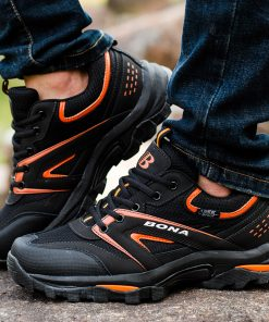 Men's Outdoor Lace Up Hiking Shoes - AwesomeGraphix.com - T-Shirts, Caps, Mugs, Baby Onesies, Wall Art and more!