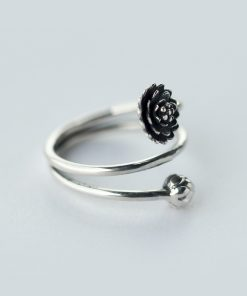 Women's Lotus Flower Ring - AwesomeGraphix.com - T-Shirts, Caps, Mugs, Baby Onesies, Wall Art and more!
