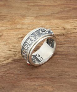 Religious Theme Unisex Sterling Silver Ring - AwesomeGraphix.com - T-Shirts, Caps, Mugs, Baby Onesies, Wall Art and more!
