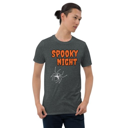 Spooky Night - Halloween - Short-Sleeve Unisex T-Shirt - AwesomeGraphix.com - T-Shirts, Caps, Mugs, Baby Onesies, Wall Art and more!