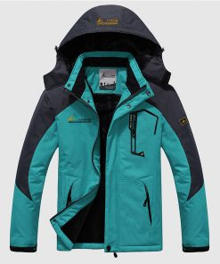 Men's Winter Warm Waterproof Jacket - AwesomeGraphix.com - T-Shirts, Caps, Mugs, Baby Onesies, Wall Art and more!
