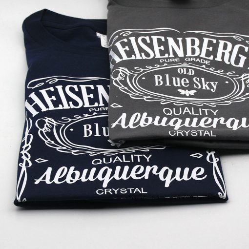 Men's Breaking Bad TV Serial Printed Cotton T-Shirts - AwesomeGraphix.com - T-Shirts, Caps, Mugs, Baby Onesies, Wall Art and more!