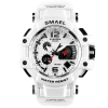 Shock Proof Wristwatches for Men with Dual Digital and Analogue Displays - AwesomeGraphix.com - T-Shirts, Caps, Mugs, Baby Onesies, Wall Art and more!