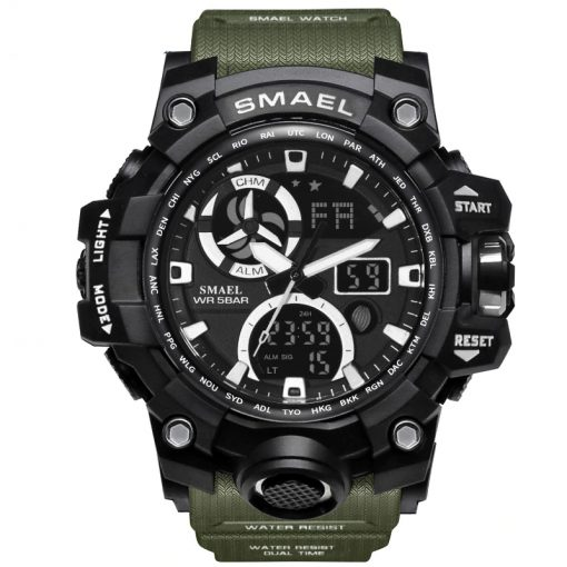 Digital Backlight Men's Military LED Watch - AwesomeGraphix.com - T-Shirts, Caps, Mugs, Baby Onesies, Wall Art and more!