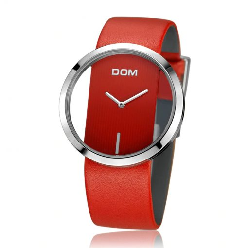 Casual Women's Wristwatches with Leather Strap - AwesomeGraphix.com - T-Shirts, Caps, Mugs, Baby Onesies, Wall Art and more!