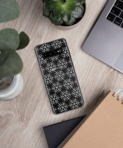 Snow Flakes Print - Samsung Case - AwesomeGraphix.com - T-Shirts, Caps, Mugs, Baby Onesies, Wall Art and more!