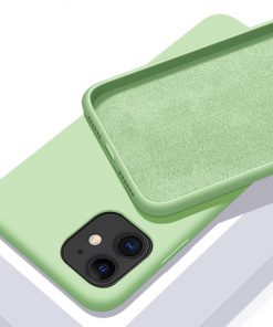 Solid Color Soft Silicone Case for iPhone - AwesomeGraphix.com - T-Shirts, Caps, Mugs, Baby Onesies, Wall Art and more!