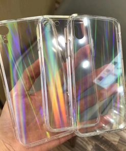 Holographic Transparent Case for iPhone - AwesomeGraphix.com - T-Shirts, Caps, Mugs, Baby Onesies, Wall Art and more!
