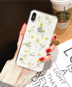 Dry Flowers Case for iPhone - AwesomeGraphix.com - T-Shirts, Caps, Mugs, Baby Onesies, Wall Art and more!