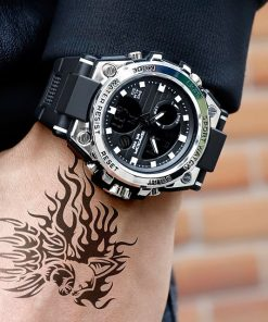 Men's Military Waterproof Watch - AwesomeGraphix.com - T-Shirts, Caps, Mugs, Baby Onesies, Wall Art and more!