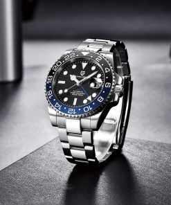 Men's Automatic Mechanical Stainless Steel Watch - AwesomeGraphix.com - T-Shirts, Caps, Mugs, Baby Onesies, Wall Art and more!