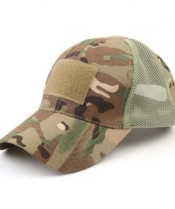 Men's Breathing Camouflage Army Cap - AwesomeGraphix.com - T-Shirts, Caps, Mugs, Baby Onesies, Wall Art and more!