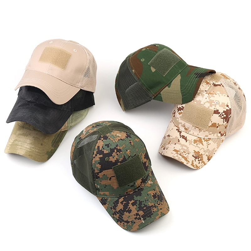 Men's Breathing Camouflage Army Cap