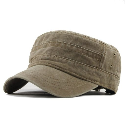 Men's Vintage Military Cap - AwesomeGraphix.com - T-Shirts, Caps, Mugs, Baby Onesies, Wall Art and more!