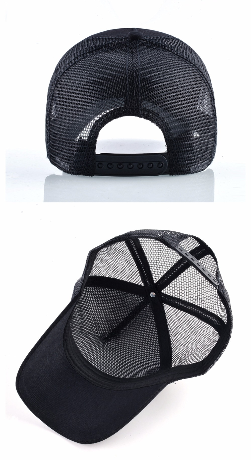 Breathable Mesh Trucker Cap with Animal Patch