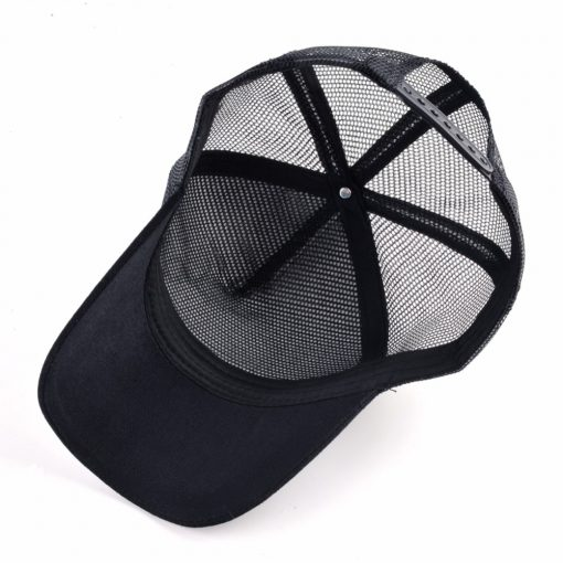 Breathable Mesh Trucker Cap with Animal Patch - AwesomeGraphix.com - T-Shirts, Caps, Mugs, Baby Onesies, Wall Art and more!