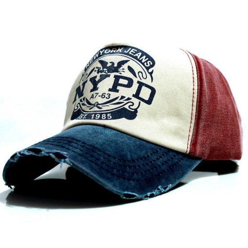 Men's Colorful Casual Baseball Cap - AwesomeGraphix.com - T-Shirts, Caps, Mugs, Baby Onesies, Wall Art and more!